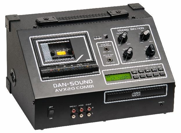 LECTEUR K7 / CD DAN SOUND AVX-20 COMBI