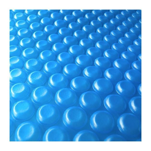 B che solaire bulles pour piscine 6x4m aquamarin for Bache solaire pour piscine