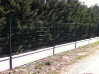 clôture tôle perforée
