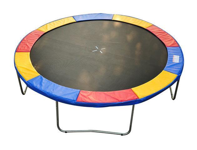 Couvre ressort toile bache a ressorts pour trampoline 10ft diametre 305 cm co - Ressort de trampoline ...
