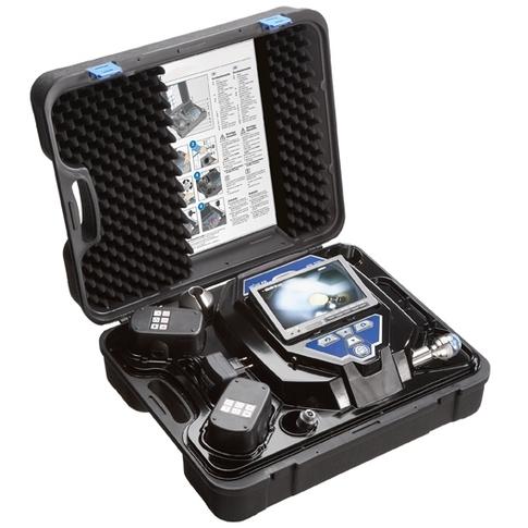 Camera d'inspection avec tete rotative pan tilt - xplorer 360
