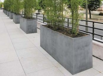 Jardiniere Rectangulaire Composite Fivgar