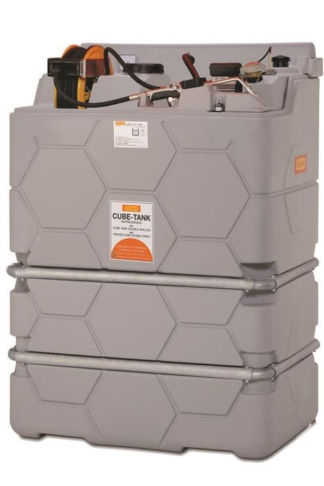 STATION 230V POUR HUILES NEUVES LUB CUBE 1500 L STANDARD INDOOR CEMO