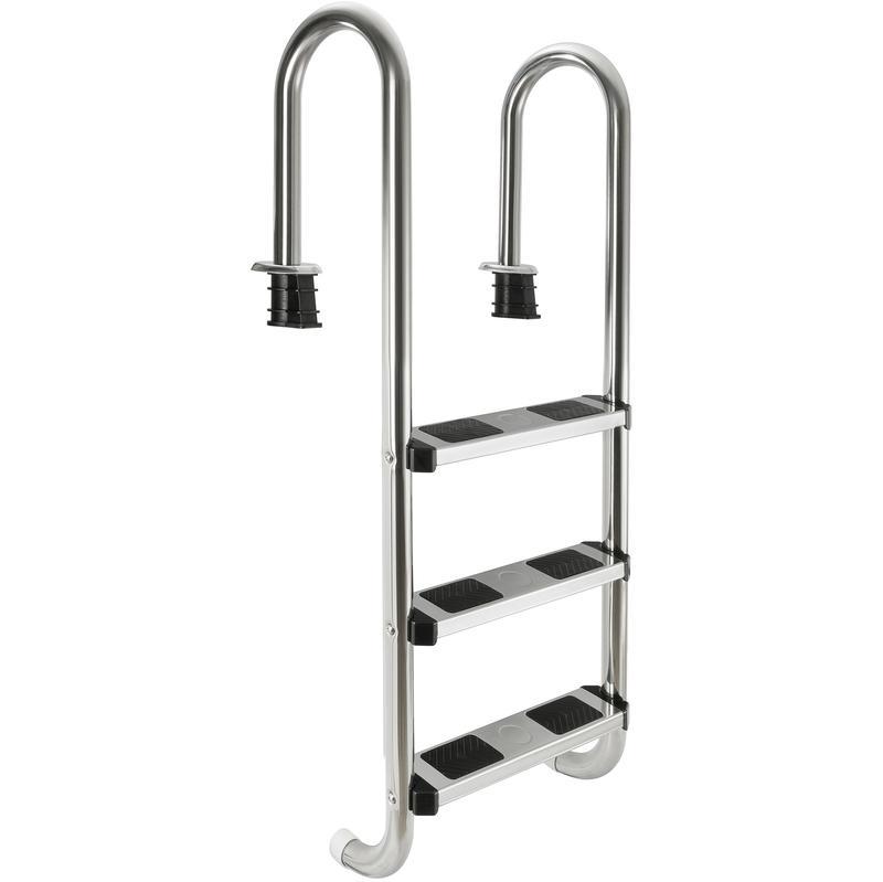 Escaliers chelles et plongeoirs de piscine comparez les prix pour professionnels sur - Echelle piscine inox 3 marches ...