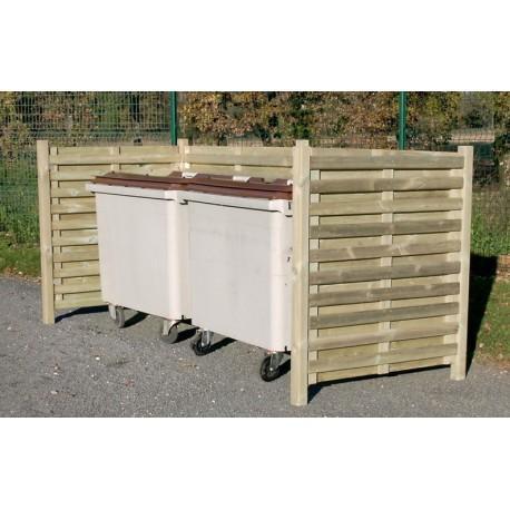 cofradis collectivites produits de la categorie cache conteneurs pour dechets. Black Bedroom Furniture Sets. Home Design Ideas