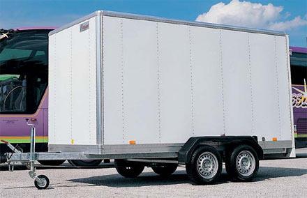 remorques humbaur serie 5000 modele fourgon alu. Black Bedroom Furniture Sets. Home Design Ideas