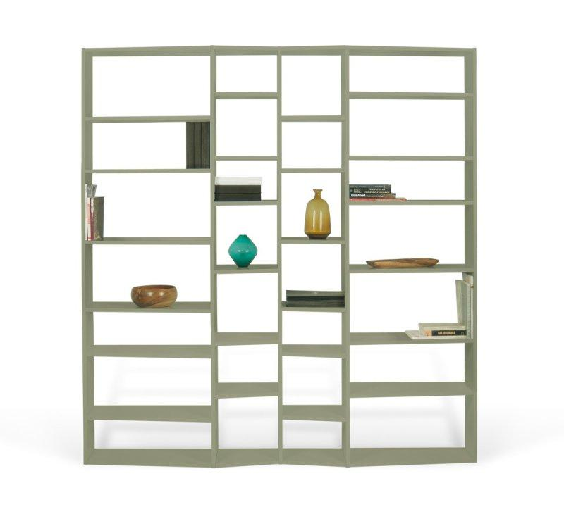 Temahome buddy 28 casiers bibliotheque etagere design for Bibliotheque meuble habitat