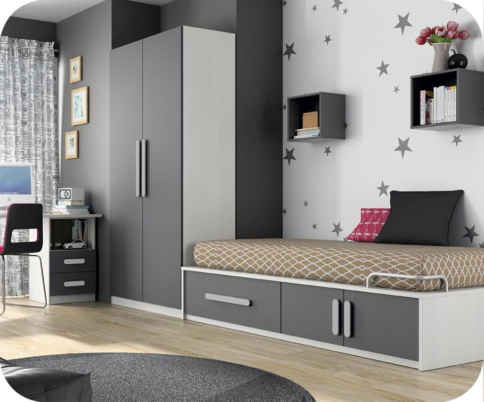 mcd 39 produits chambres equipees pour enfants. Black Bedroom Furniture Sets. Home Design Ideas