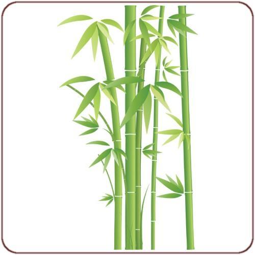 Sticker bambou zen