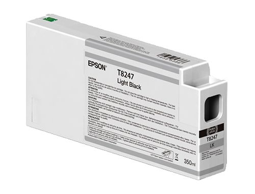 CARTOUCHE D'ENCRE EPSON SURECOLOR P6000/P8000/P7000/P9000 GRIS T824 350ML
