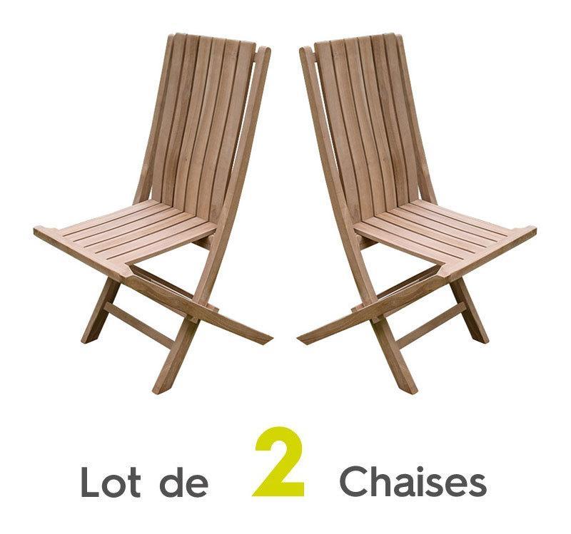 Chaise d 39 ext rieure en bois tous les fournisseurs de for Lot de chaises pliantes