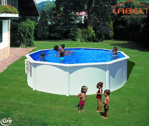 piscine gre hors sol acier forme ronde bora comparer les prix de piscine gre hors sol acier. Black Bedroom Furniture Sets. Home Design Ideas