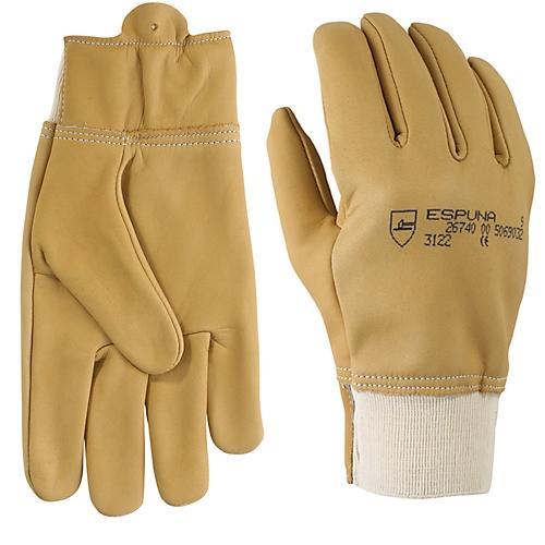 gants de travail cuir hydrofuge 26740 espuna comparer les prix de gants de travail cuir. Black Bedroom Furniture Sets. Home Design Ideas