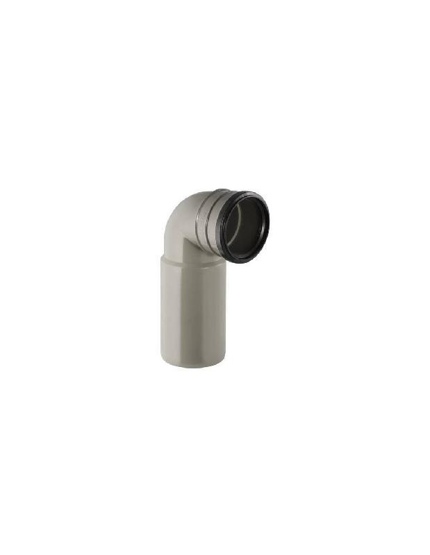 COUDE D'ÉVACUATION PVC 100 MM - GEBERIT - 367.002.00.1
