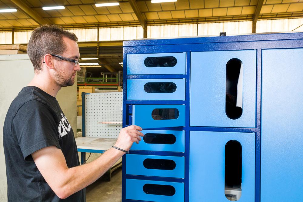 Distributeur automatique sécurisé lockerbox
