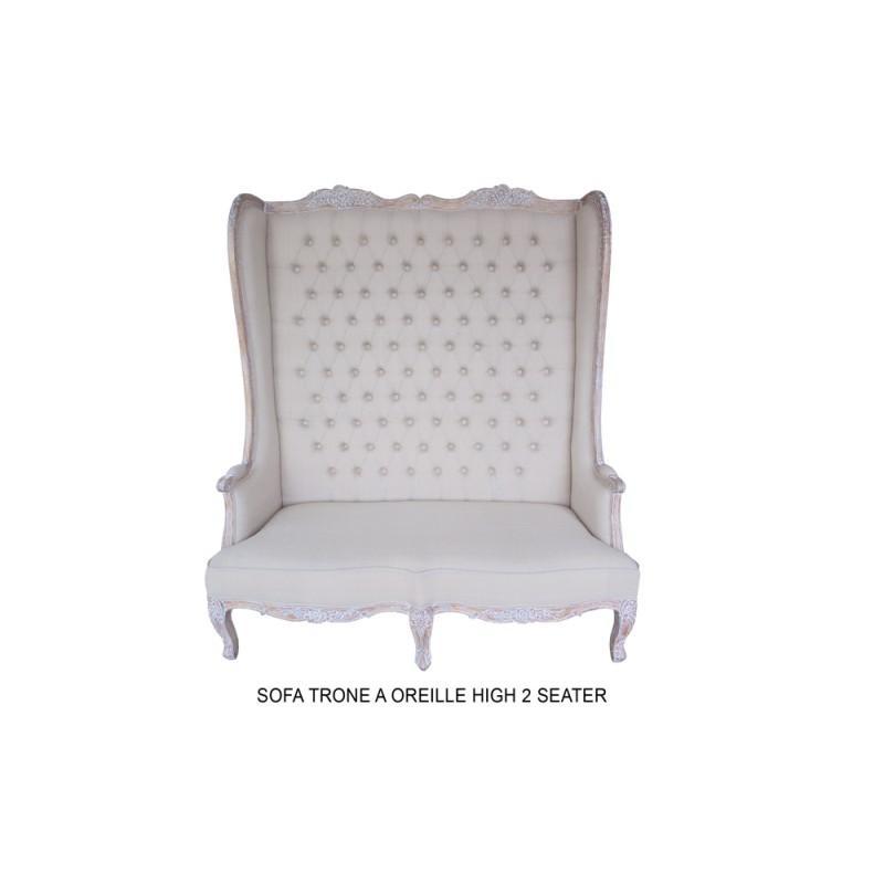 fauteuil haut dossier 2 places. Black Bedroom Furniture Sets. Home Design Ideas