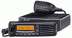 Radio mobile numérique avec écran lcd ic-f5062d