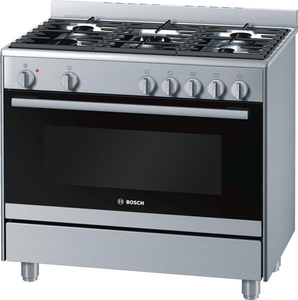 bosch cuisiniere gaz centre de cuisson 90cm hsb736256e. Black Bedroom Furniture Sets. Home Design Ideas
