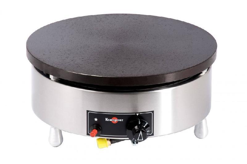 cr pi re gaz krampouz 40 cm thermostatique ch ssis rond. Black Bedroom Furniture Sets. Home Design Ideas