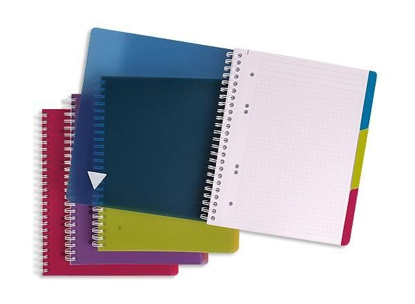 CAHIER SPIRALE EVOLUTIV A5+ 180P, 5X5,+ 3 INTERCALAIRES - NEUF - CLAIREFONTAINE