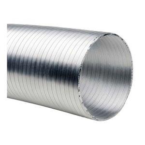100mm x 10m Adduction Air Aluminium Feuille Flexible Ventilateur Ventilation Gaine Extracteur Hydroponie Salle De Croissance 4