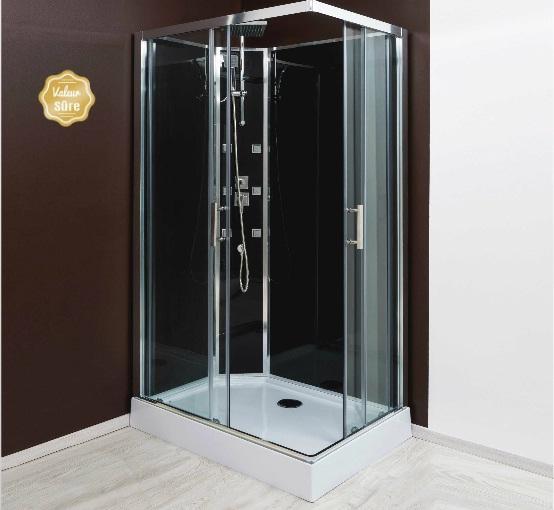 Cabines de douche aqua achat vente de cabines de for Prix cabine douche