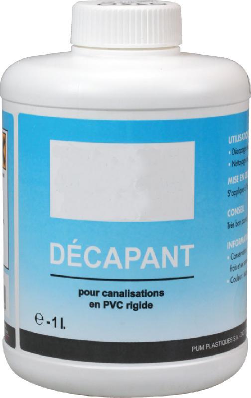 D capant pour colle pvc qt 1l comparer les prix de d capant pour colle pvc qt 1l sur - Comment enlever de la colle sur du pvc ...