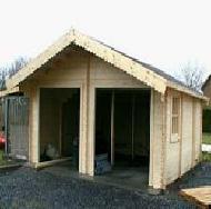 Les travaux de construction construire un garage en for Construire un garage en ossature bois