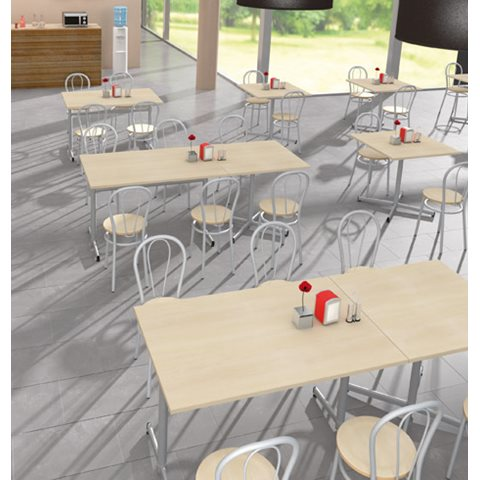 PACK VILMA 2 - TABLE RECTANGULAIRE + 4 CHAISES -