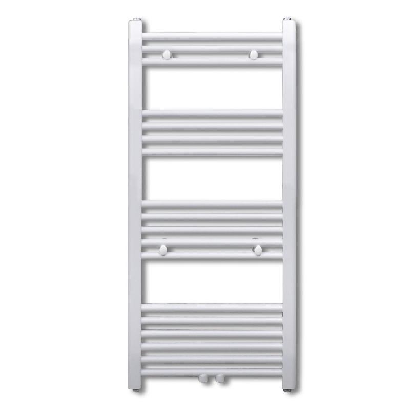 Radiateur sèche-serviettes circulation d\'eau chaude hauteur 142 cm salle de bain 3202017