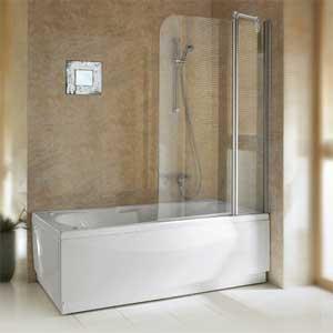 parois de baignoire aurora 3 transparent. Black Bedroom Furniture Sets. Home Design Ideas