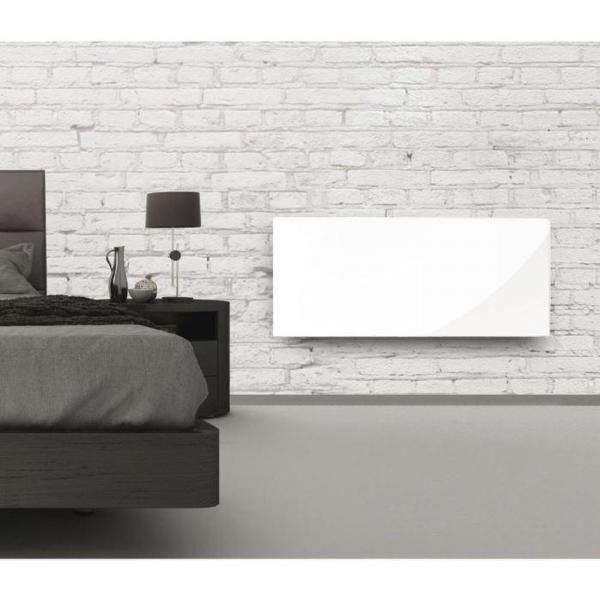 installation climatisation gainable radiateur electrique rayonnant verre blanc. Black Bedroom Furniture Sets. Home Design Ideas