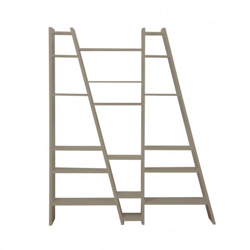 Temahome Delta 3 Bibliotheque Etagere Design Grise Mate