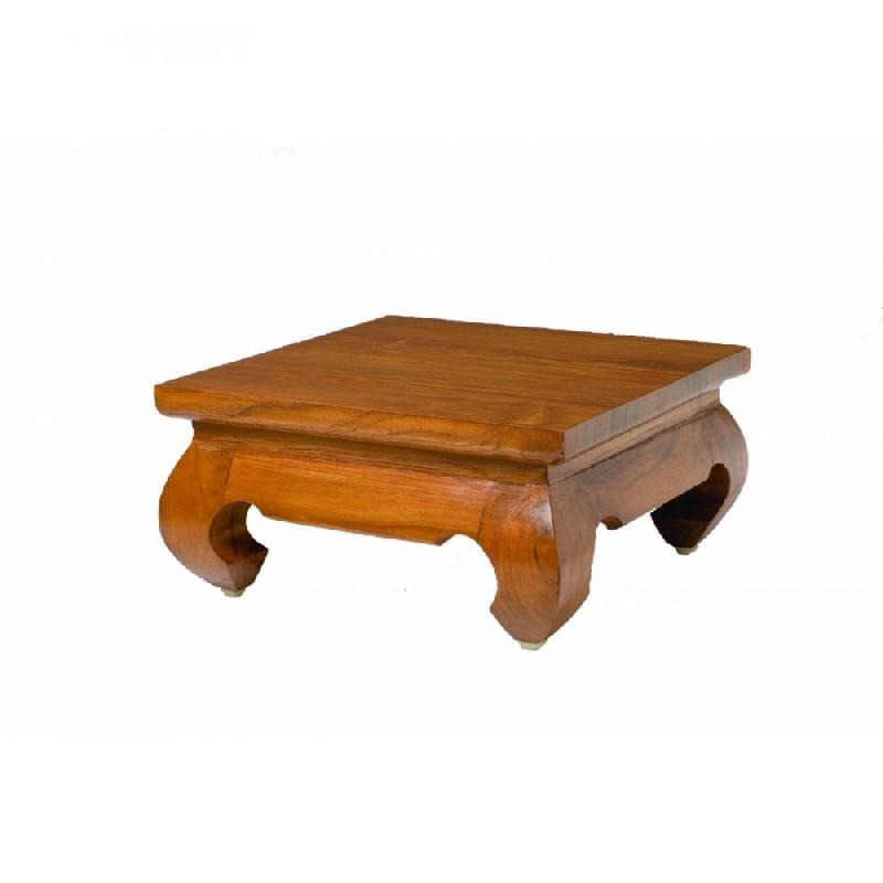 design en teck Table basse 30x30 opium cm WHIe29YEbD