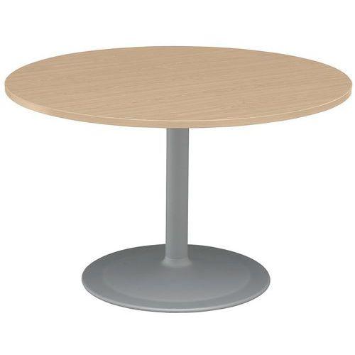 TABLE DE REUNION RONDE DIAM80 HETRE / PIEDS T ULIPE