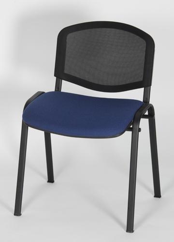 Chaise polyvalente 4 pieds résille et assise garnie - dino-t
