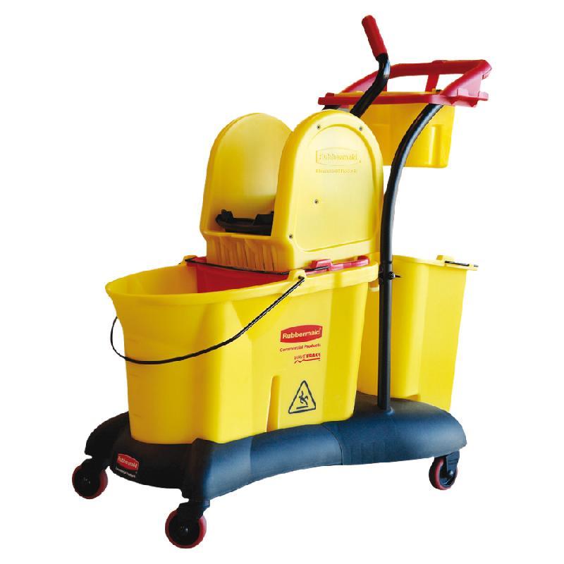 Chariot de m nage manutan collectivit s achat vente de chariot de m nage manutan for Chariot de menage rubbermaid
