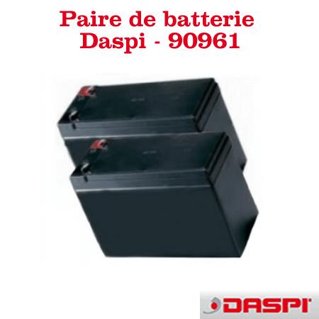 Batteries pour portes automatiques