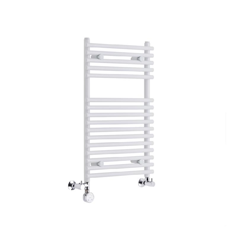 radiateur s che serviettes mixte lectrique blanc 750 x 450mm 274 watts hudson reed comparer. Black Bedroom Furniture Sets. Home Design Ideas