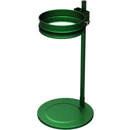 support sacs poubelles 80 a 110 litres sur socle vert ral6018. Black Bedroom Furniture Sets. Home Design Ideas