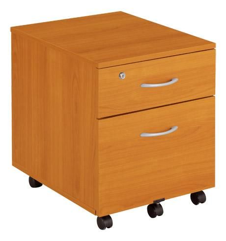 caisson mobile merisier 2 tiroirs mobilier styx comparer les prix de caisson mobile merisier 2. Black Bedroom Furniture Sets. Home Design Ideas