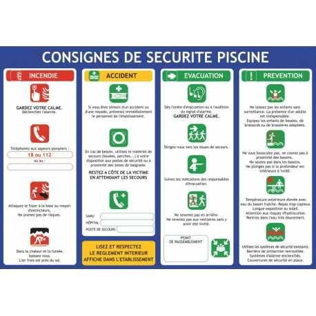 Consignes de s curit comparez les prix pour professionnels sur - Respecter les consignes de securite ...