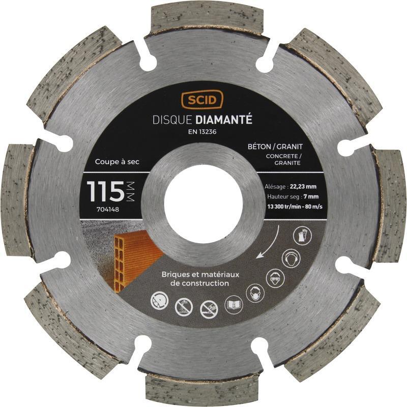 disque diamant beton