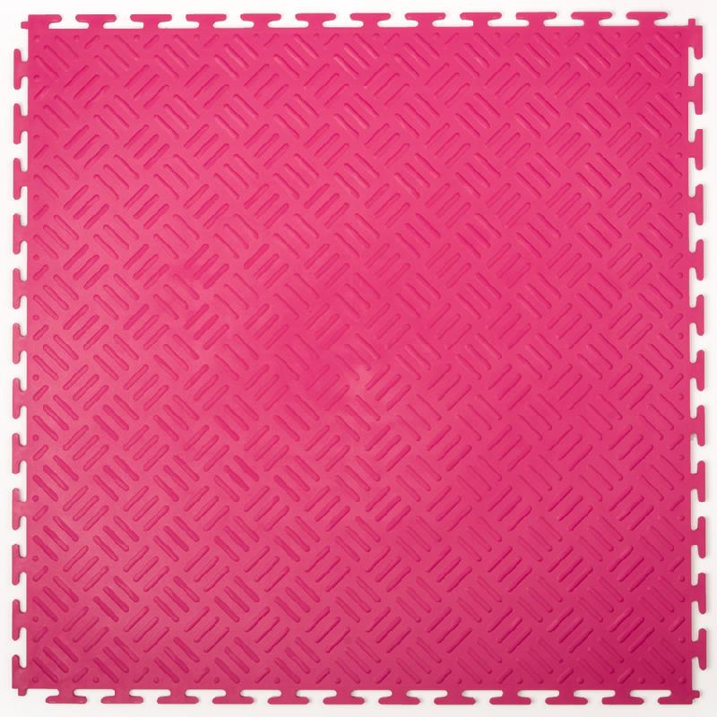 DALLES PVC CHECKER ROSE