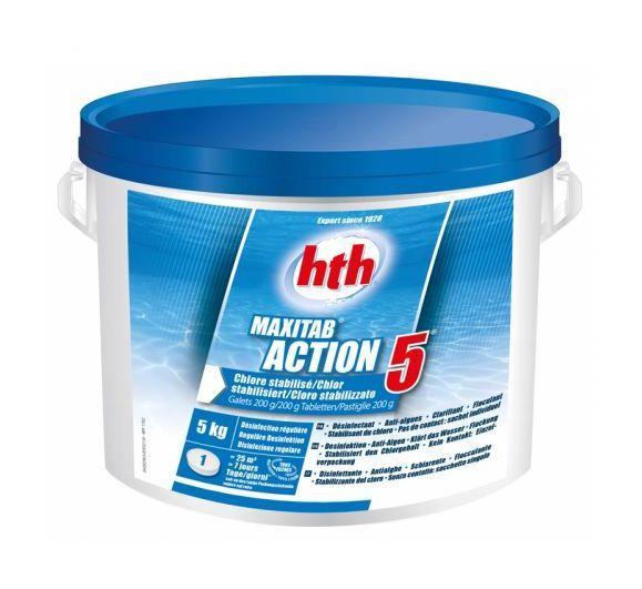 Traitements d 39 eau pour piscine hth achat vente de for Chlore hth piscine