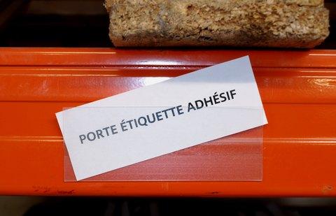 Porte etiquettes tous les fournisseurs porte for Adhesif de porte