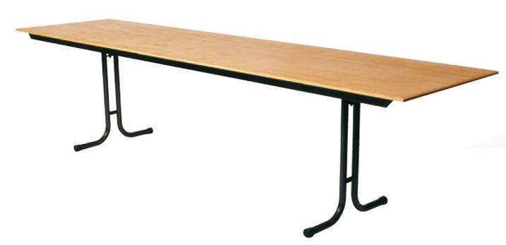 Table pliante en bois xxl