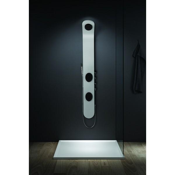 Colonnes de douches comparez les prix pour professionnels sur page 1 for Douche noir et blanc