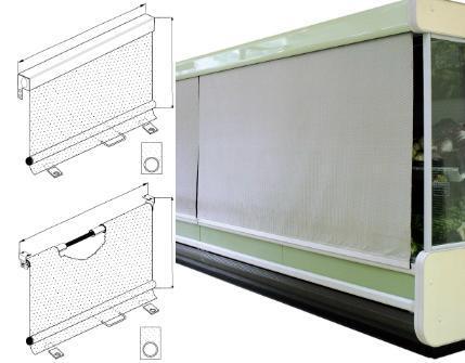 Accessoires pour vitrines réfrigérées