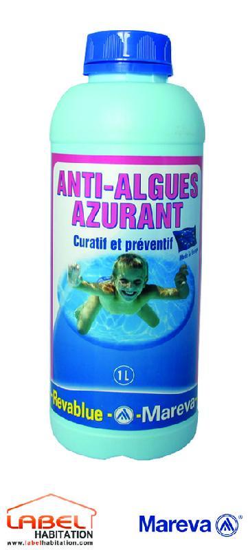 Traitements d 39 eau pour piscine mareva achat vente de for Anti algues piscine